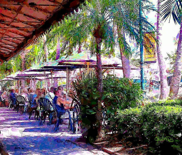 Photograph - St Armands Circle 2 by Susan Molnar