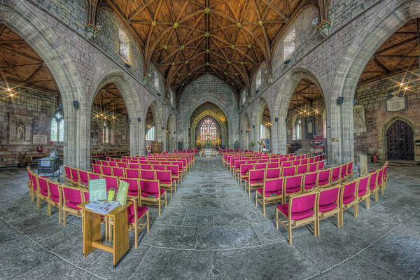 Photograph - St Asaph Cathedral by Ian Mitchell