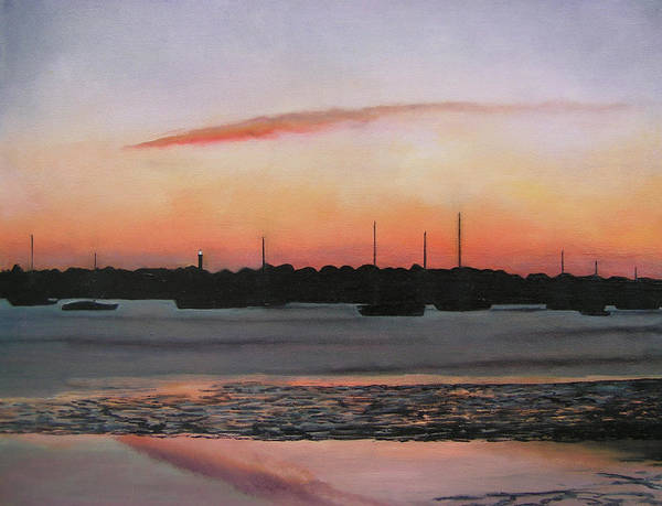Weeks Bay Painting - St. Augustine Bayfront Morning by Patty Weeks