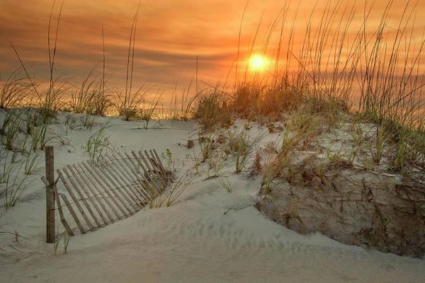 Saint Augustine Beach Wall Art - Photograph - St. Augustine Beach Sunset by Mitch Spence