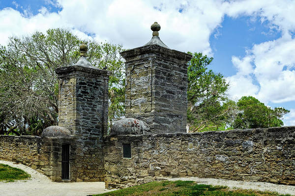 Photograph - St. Augustine City Gate, Florida by Kay Brewer