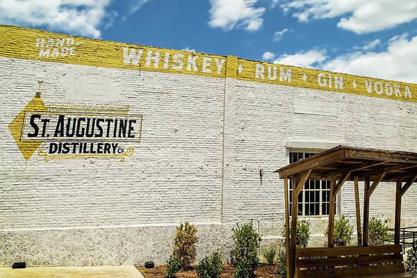 Photograph - St. Augustine Distillery In St. Augustine, Florida by Kay Brewer
