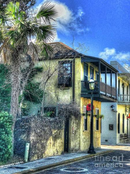 Wall Art - Photograph - St. Augustine House by Debbi Granruth