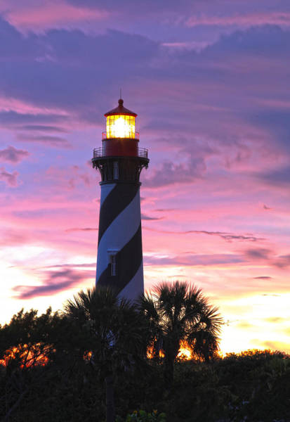 Photograph - St. Augustine Light by Robert Och