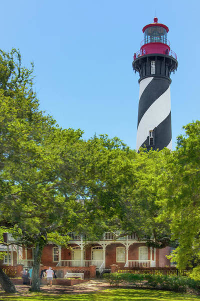 Flagler Photograph - St. Augustine Light Station - Florida by Mitch Spence