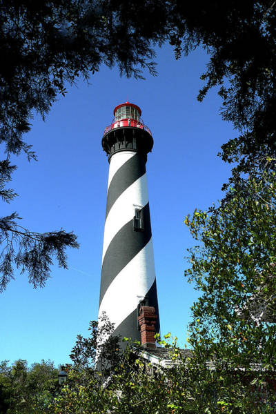Photograph - St. Augustine Light Tower by Gordon Engebretson