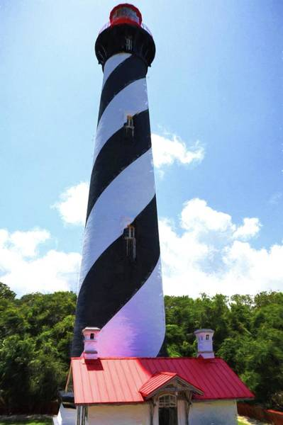 Photograph - St. Augustine Lighthouse by Carol Montoya
