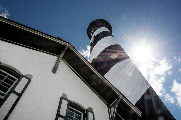 Flagler Photograph - St. Augustine Lighthouse, Florida by Mitch Spence