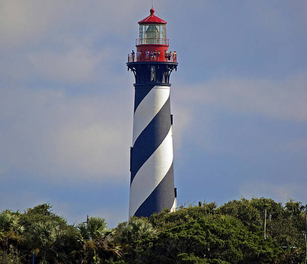 Saint Augustine Florida Photograph - St. Augustine Lighthouse by Kenneth Albin