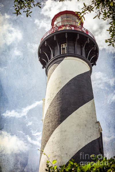 Photograph - St. Augustine Lighthouse by Todd Blanchard