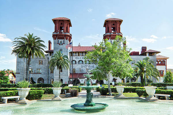 Photograph - St. Augustine Lightner Museum And City Government Building by Kay Brewer
