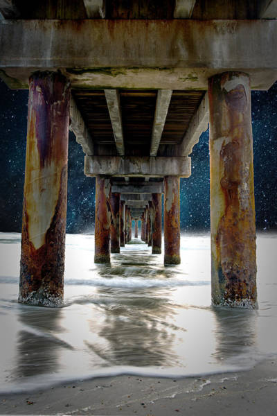 Wall Art - Photograph - St Augustine Pier by Greg Waters
