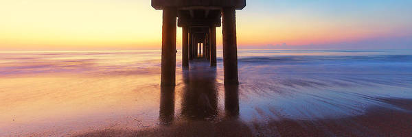 Photograph - St Augustine Pier Panorama by Stefan Mazzola