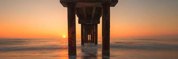 Photograph - St Augustine Pier by Stefan Mazzola