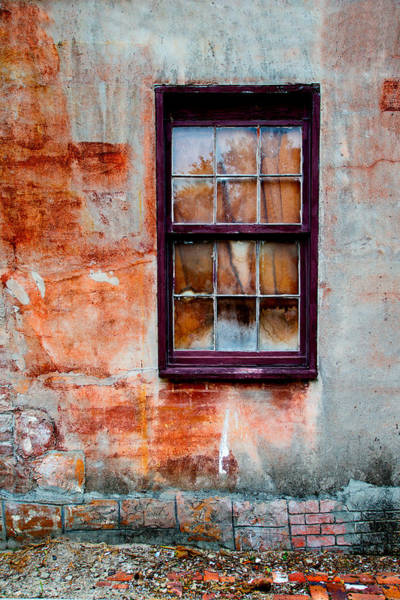 Wall Art - Photograph - St Augustine Window by Greg Waters