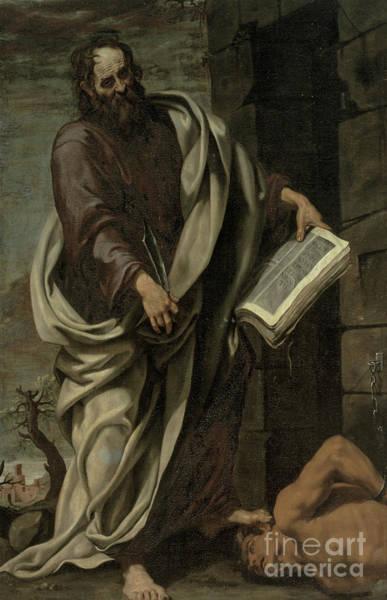 1620 Wall Art - Painting - St Bartholomew, 1620 by Luis Tristan de Escamilla