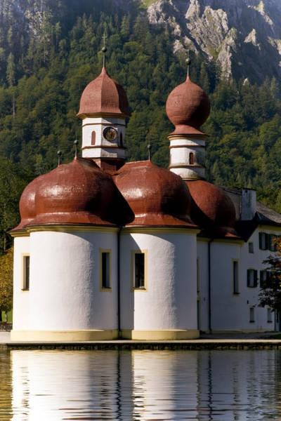 Wall Art - Photograph - St. Bartholomew's Church, Berchtesgaden by Frank Tschakert