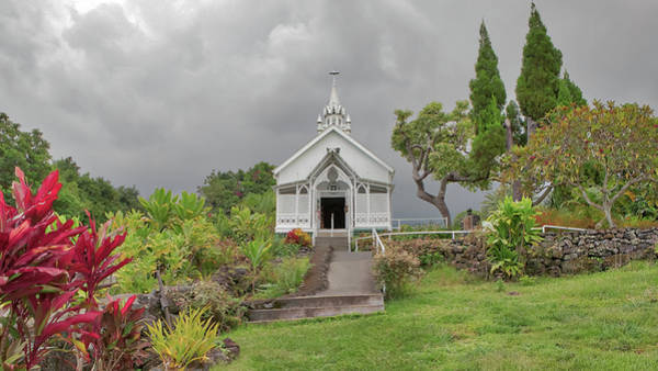 Photograph - St. Benedict Painted Church by Susan Rissi Tregoning