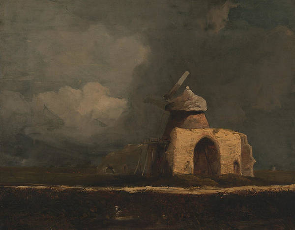 Painting - St. Benet's Abbey  by John Sell Cotman