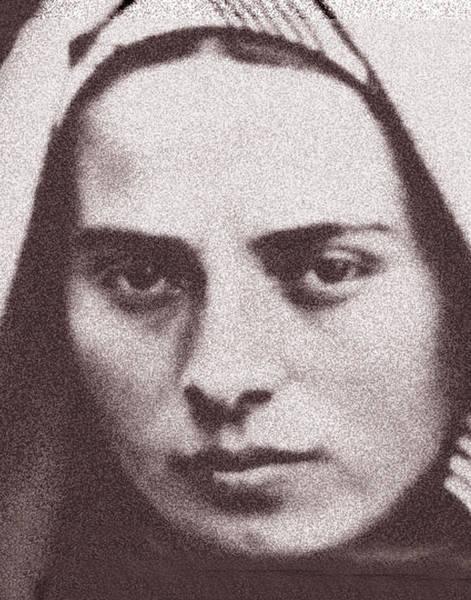 Bernadette Photograph - St. Bernadette by Samuel Epperly