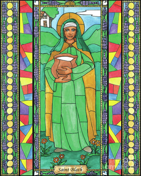 Painting - St. Blath by Brenda Nippert