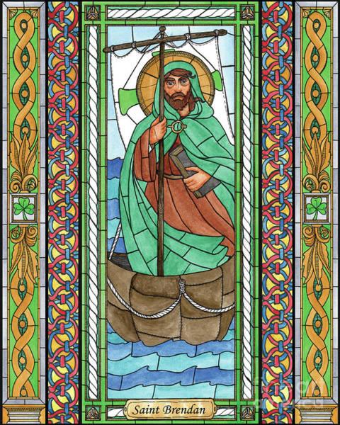 Painting - St. Brendan by Brenda Nippert