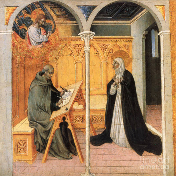 Painting - St. Catherine Of Siena by Granger