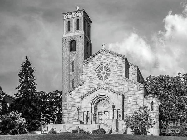 Photograph - St. Catherine University Our Lady Of Victory Chapel by University Icons