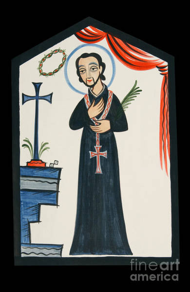 Painting - St. Cayetano - Aocay by Br Arturo Olivas OFS