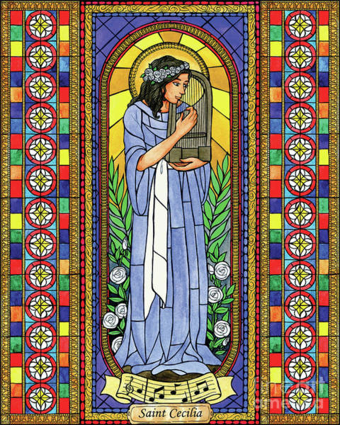 Painting - St. Cecilia by Brenda Nippert