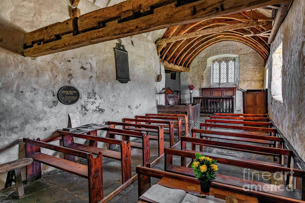 Wall Art - Photograph - St Celynnin Church  Interior by Adrian Evans