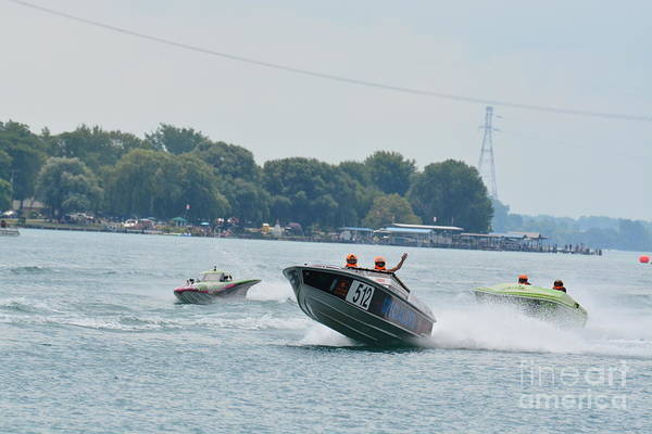 Photograph - St Clair Off Shore Power Boats by Randy J Heath