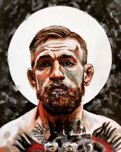 Painting - Saint Conor by Joel Tesch