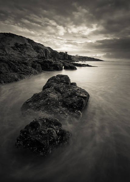 Wall Art - Photograph - St Cyrus Beach by Dave Bowman
