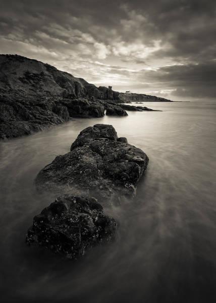 Photograph - St Cyrus Beach by Dave Bowman