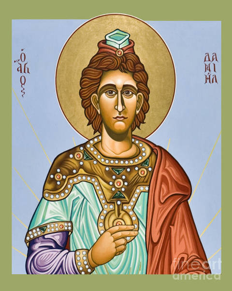 Painting - St. Daniel The Prophet - Lwdtp by Lewis Williams OFS