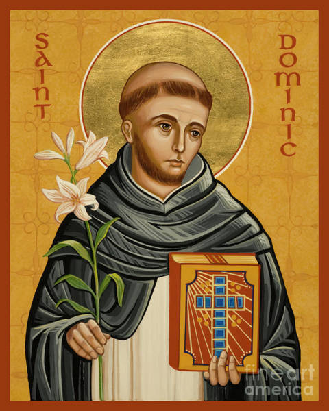 Painting - St. Dominic - Jcdmi by Joan Cole