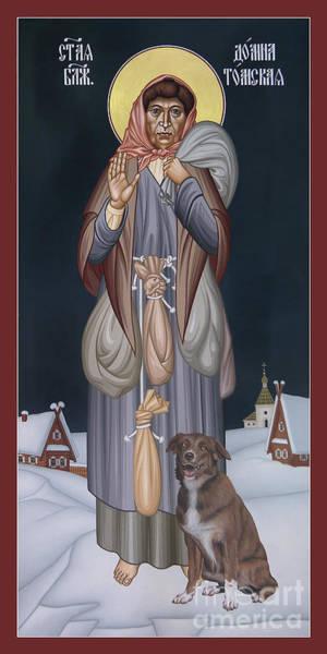 Painting - St. Domna Of Tomsk - Rldot by Br Robert Lentz OFM
