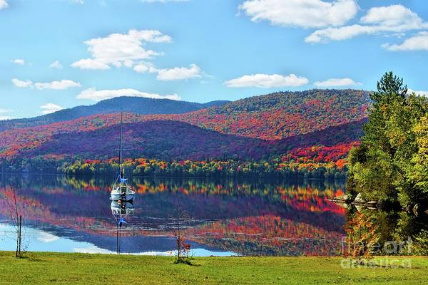 Wall Art - Photograph - St Donat Reflection by Aimelle