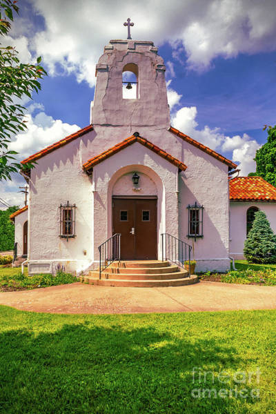 Photograph - St Edwards Catholic Church by Nick Zelinsky