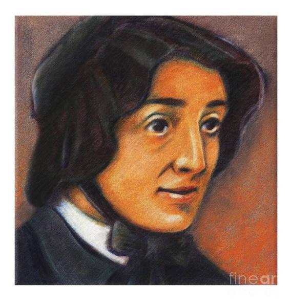 Painting - St. Elizabeth Ann Seton - Jleas by Julie Lonneman