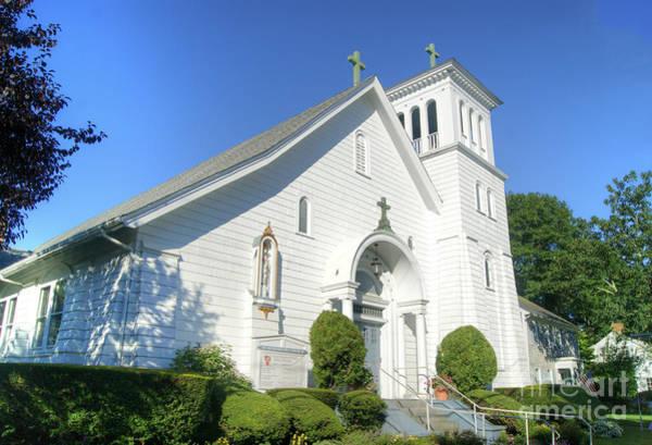 Photograph - St. Elizabeth's Church, Edgartown. by David Birchall