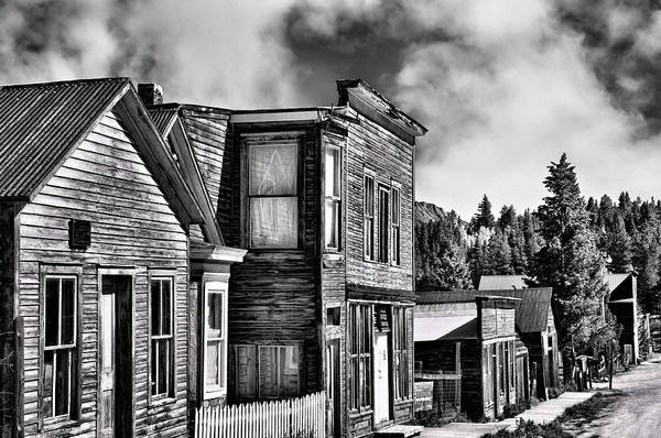 Photograph - St. Elmo Ghost Town by Steve Stuller
