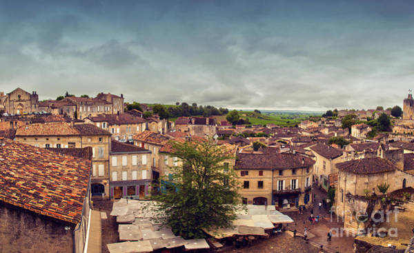 Photograph - St-emilion Panorama by Ariadna De Raadt