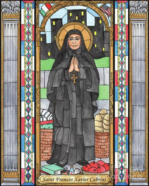 Painting - St. Frances Xavier Cabrini by Brenda Nippert