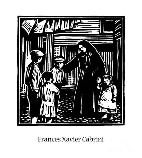 Painting - St. Frances Xavier Cabrini - Jlfxc by Julie Lonneman