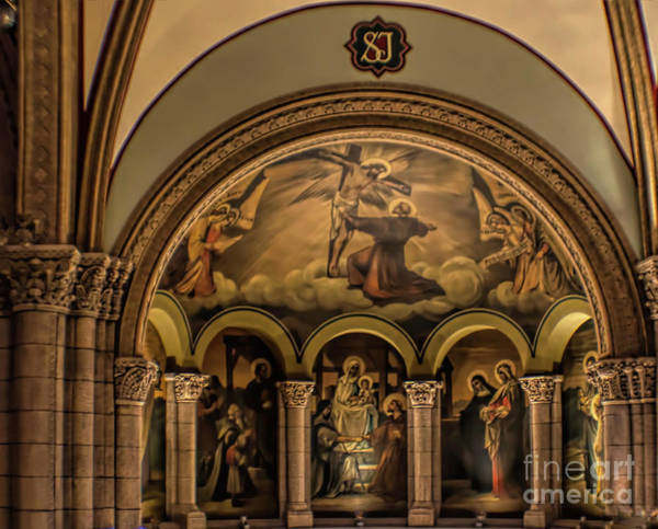 Wall Art - Photograph - St Francis Assisi Arches by Luther Fine Art