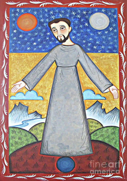 Painting - St. Francis Of Assisi - Br. Of Cosmos - Aofbc by Br Arturo Olivas OFS