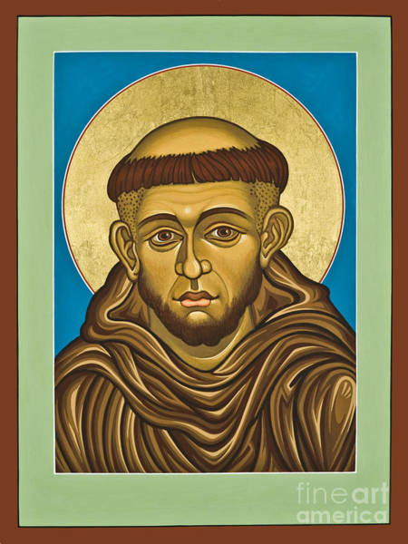 Painting - St. Francis Of Assisi - Lwasi by Lewis Williams OFS