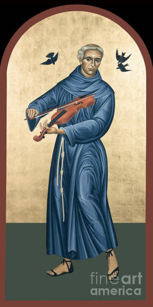 Painting - St. Francis Solano - Rlfrs by Br Robert Lentz OFM